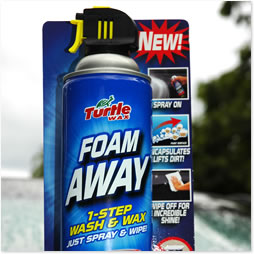 Turtle Wax Foam Away